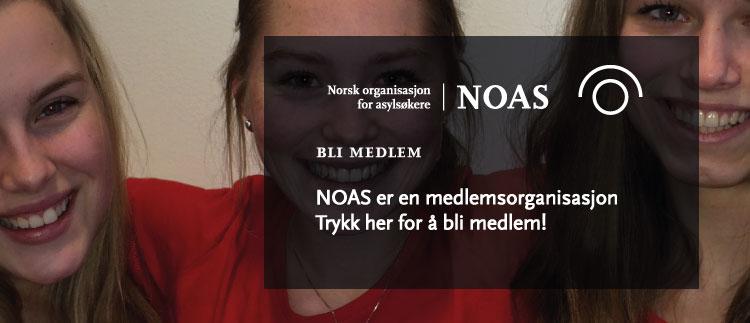 Bli medlem i NOAS