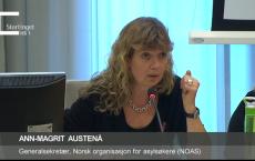 NOAS deltok i høring i Stortingets kommunal- og forvaltningskomité tidligere denne uka.