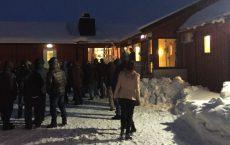 Økte asylankomster i 2015 har gjort asyl- og flyktningpolitikk til et sentralt debatt-tema og ført til endringer i lovgivning og praksis på utlendingsfeltet i Norden. Her fra Vestleiren mottak i Finnmark. Foto: NOAS
