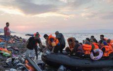 Syriske flyktninger på den greske øya Lesvos Foto: UNHCR/I.Prickett