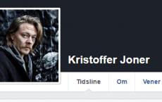 Fra Kristoffer Joners Facebook-profil.